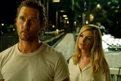 """Po neįtikėtinos sėkmės juostoje """"Tarp žvaigždžių"""", M. McConaughey ir A. Hathaway vėl susitinka trileryje """"Apgaulinga ramybė"""""""
