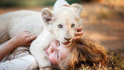 """Įspūdingi filmo """"Mija ir baltasis liūtas"""" užkulisiai: komanda tūnojo narvuose, tarp aktorių infiltravo dresuotoją"""