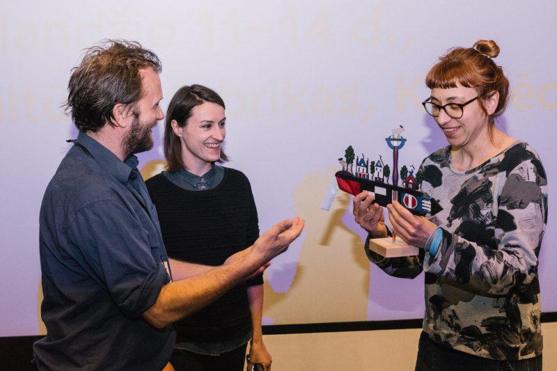 BLON festivalyje įteiktas apdovanojimas už geriausią trumpo metro animacinį filmą