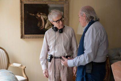 """Naują komediją """"Lietinga diena Niujorke"""" pristatančio 83-jų Woody Alleno gyvenime vis dar yra pirmų kartų"""