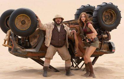 """Dwayne'as Johnsonas po išankstinės savo naujo filmo """"Džiumandži: kitas lygis"""" peržiūros žada: sukūrėme gerą filmą!"""