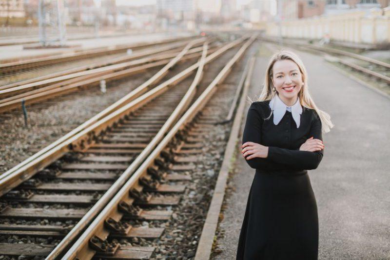 """""""Rail Baltica"""" aplinkosaugos ekspertė R. Blagnytė: savo darbą matau kaip Baltijos kelio tąsą"""