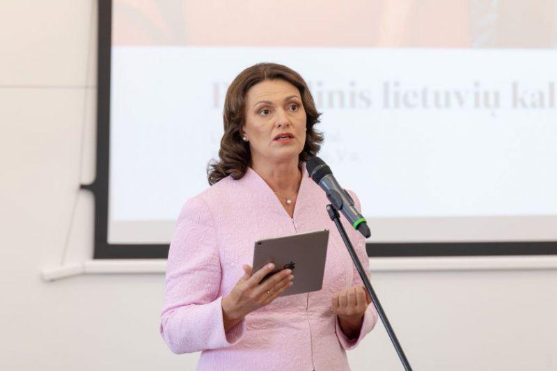 Diana Nausėdienė: Mylėti lietuvių kalbą – tai mylėti Lietuvą