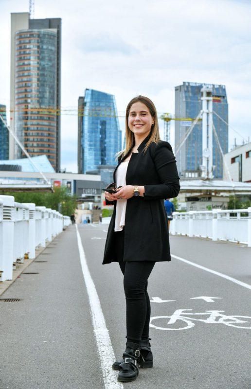 """Gamybos inžinerijos studentė Greta Petraitytė: """"Studijų keitimas buvo drąsus šūvis"""""""