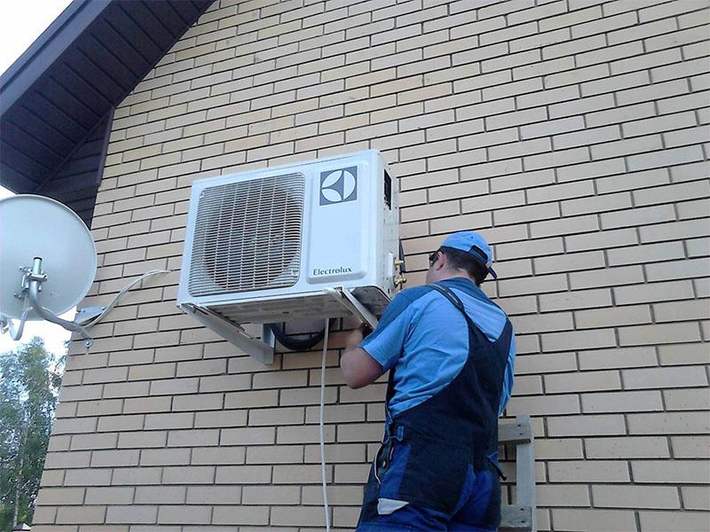 Oro kondicionierių montavimo ypatumai