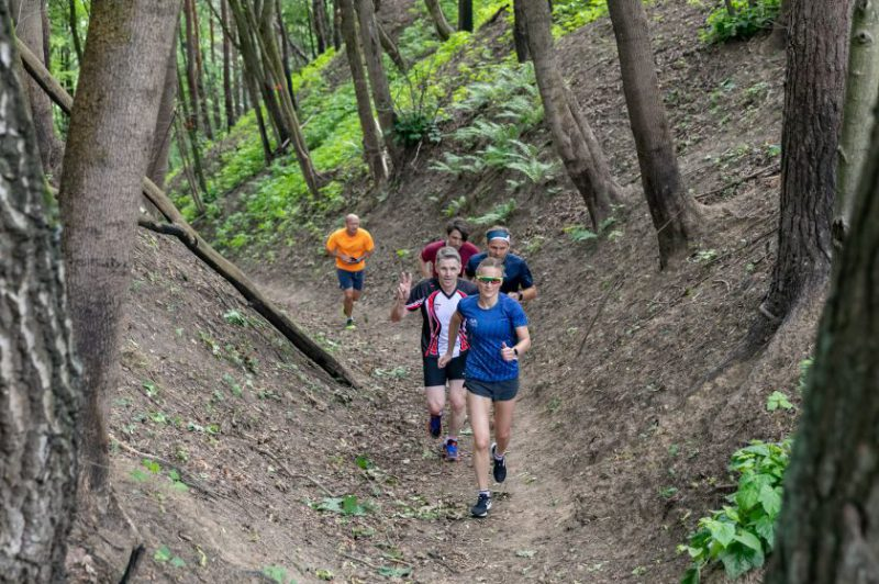100 km bekelės taką aplink Vilnių išbandė ir trys olimpiečiai