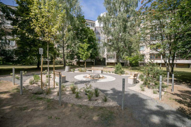 Žaliosios salelės – urbanistinė inovacija Vilniaus daugiabučių rajonuose