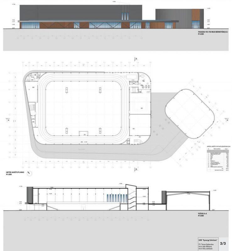 Tauragė planuoja statyti multifunkcinę areną: rūsiai ir trinkelės nemotyvuoja jaunimo