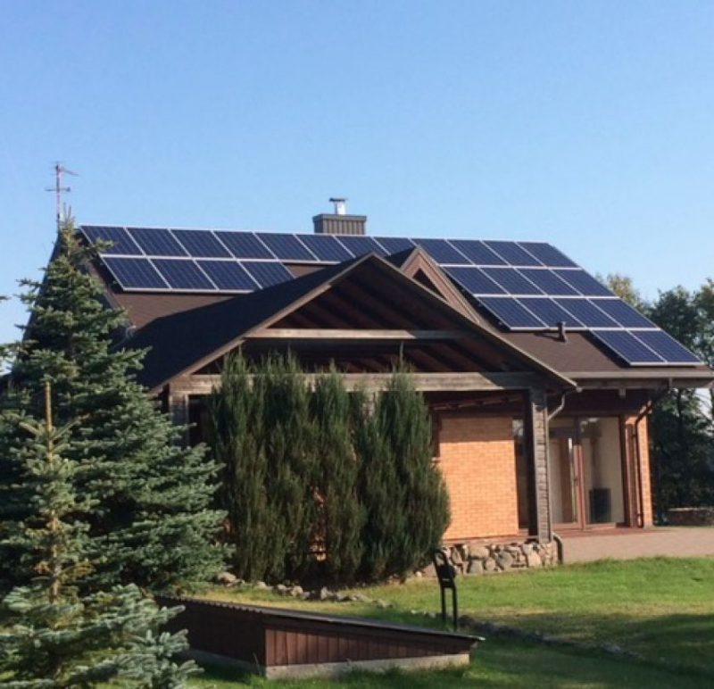 Nutolusi saulės elektrinė. Kaip nemokėti už elektros energiją arba mokestį sumažinti iki minimumo