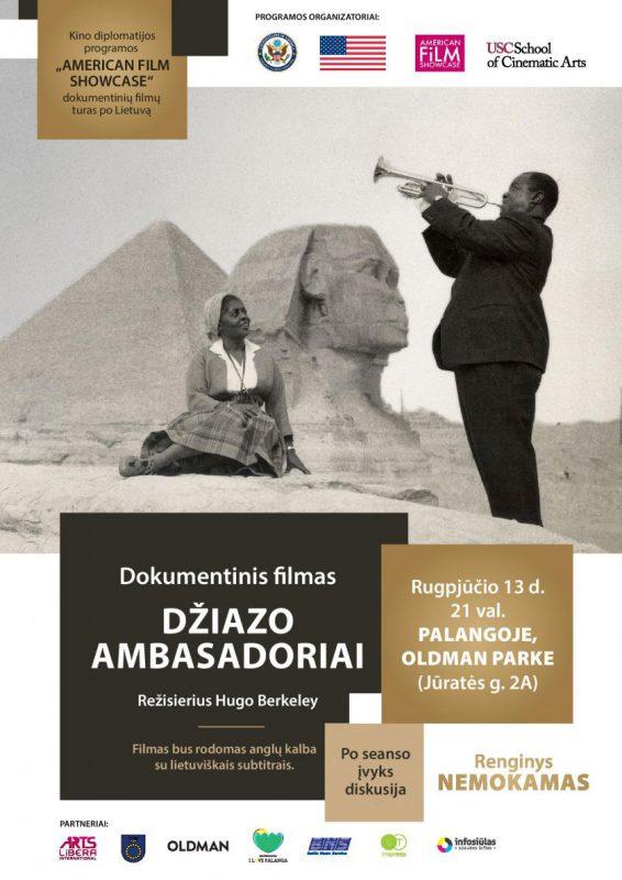 """""""Džiazo ambasadoriai"""" Palangoje tęsia JAV kino diplomatijos turą po Lietuvą"""