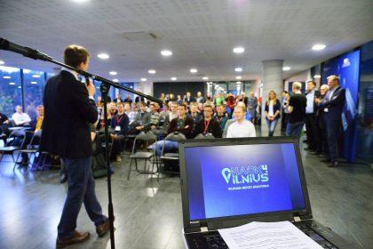 """Hakatonas """"Hack4Vilnius"""": virtualioje realybėje gims išmanūs sprendimai sostinei"""