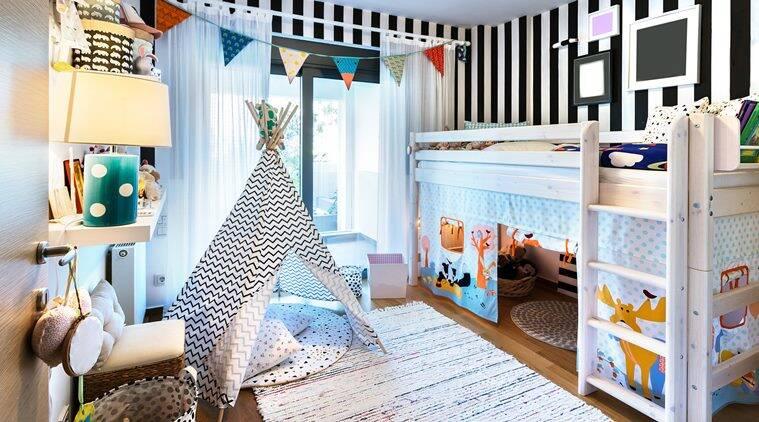 Kaip tinkamai pasirūpinti savo vaiko kambario interjeru