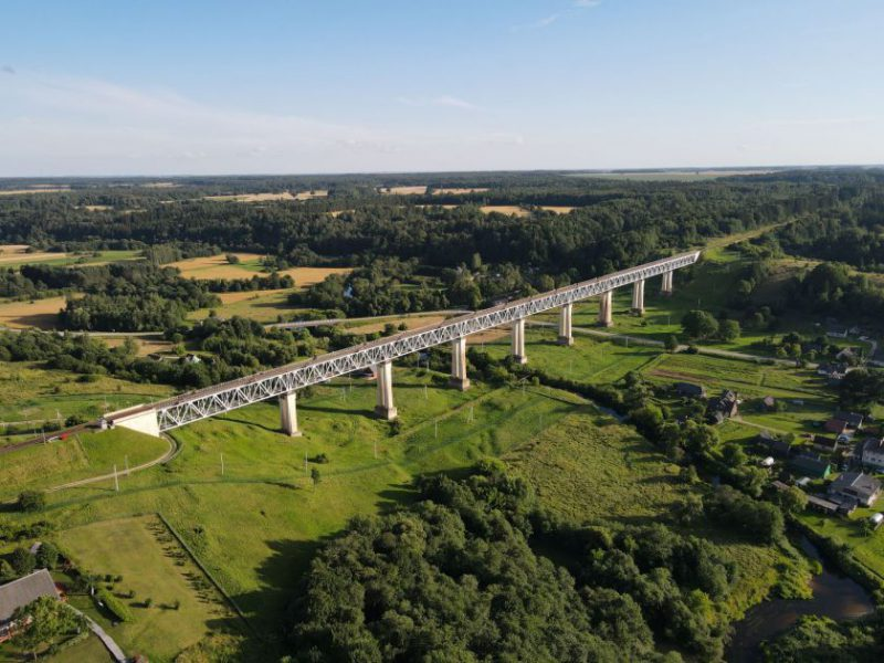 """UAB """"Švykai"""" remontuos didžiausią tiltą Lietuvoje – Lyduvėnų geležinkelio tiltą"""