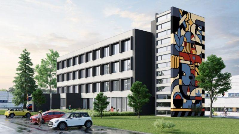 Staigmena pramoniniame Vilniaus rajone: kuria gatvės menu išdailintus loftus