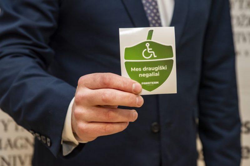 VDU Sporto centras įvertintas už prieinamumą žmonėms su negalia